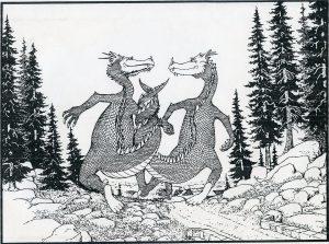 Como dibujar un dragon facil
