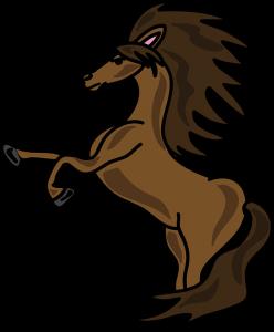 Dibujos de caballos faciles