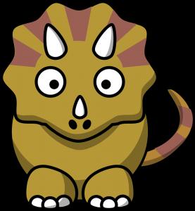 Dinosaurios animados para niños