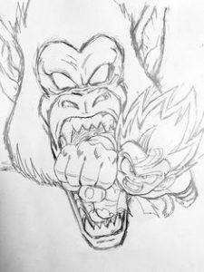 como dibujar dragon ball z
