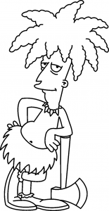 dibujos de los simpson a lapiz