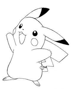 pikachu dibujo
