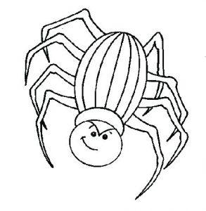 arañas para recortar