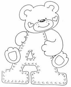 cómo dibujar un oso