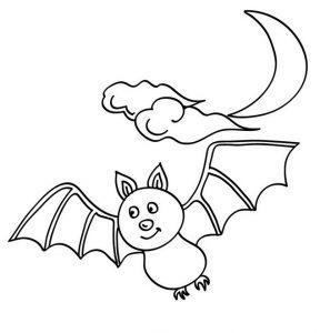 cómo se dibuja un murciélago