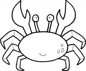 cangrejo en caricatura