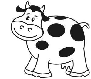 cara de vaca animada