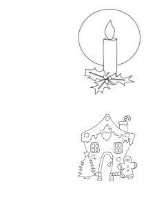 carta para los reyes magos para colorear