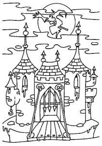castillo de caricatura