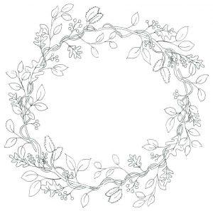 como adornar una corona de adviento