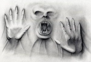 como dibujar terror