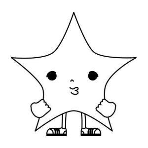 como hacer una estrella de 5 picos