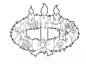 corona de adviento catolica