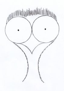dibujo de un niño facil