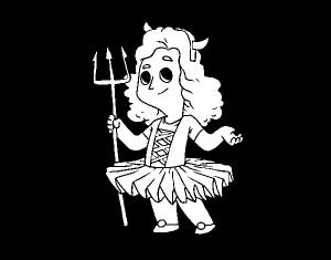 dibujos de angeles y demonios