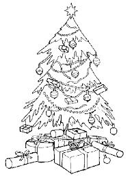 dibujos de arboles de navidad para imprimir