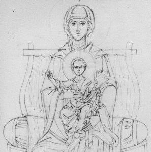 dibujos de la rosa de guadalupe