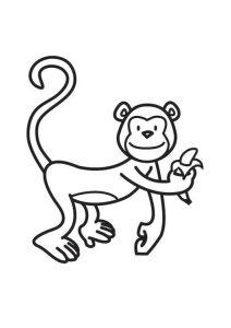 dibujos de micos