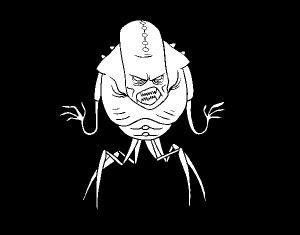 dibujos de monstruos terrorificos