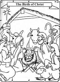 dibujos de nacimientos navideños