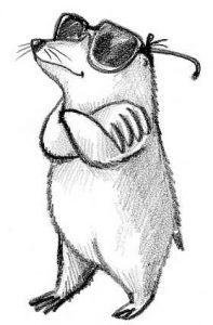 dibujos de topos para niños