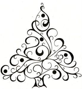 dibujos navideños para pintar