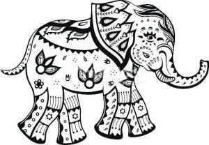 elefante caricatura