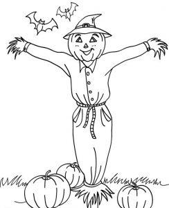 espantapajaros para halloween