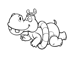 figuras de hipopotamos