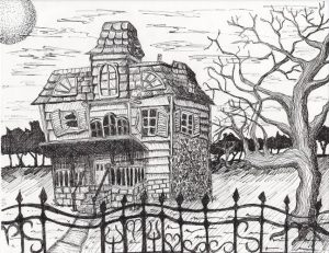 fotos de casas embrujadas por dentro
