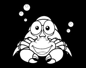 imagenes de cangrejos para dibujar