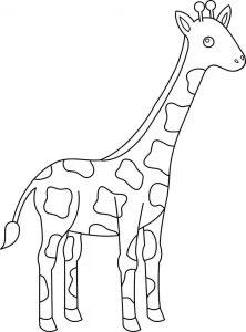 imagenes de jirafas animadas