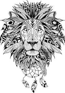 imagenes de leones animados