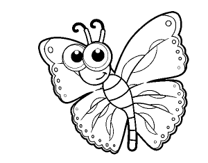 imagenes de mariposas para dibujar