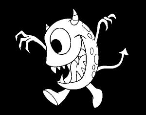 imagenes de monstruos animados