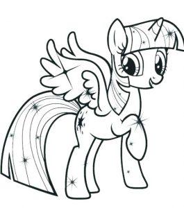 imagenes de my little pony para colorear