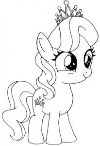 imagenes de my little pony para dibujar