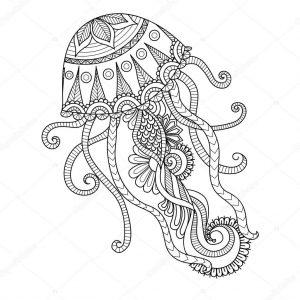 medusa dibujo animado