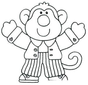 mono caricatura