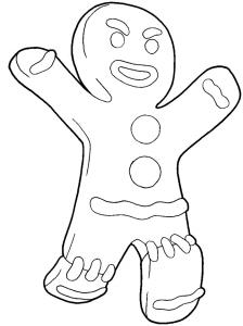 muñecos navideños galletas de jengibre