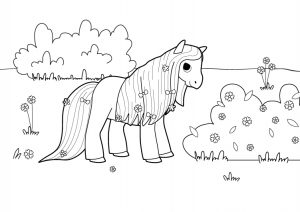 my little pony para dibujar