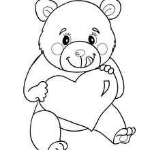 oso dibujo animado