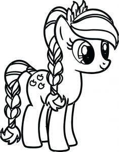 pony dibujos animados