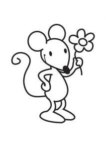 raton facil de dibujar