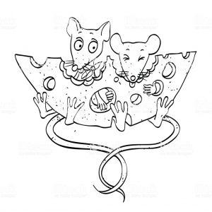 ratones faciles de dibujar