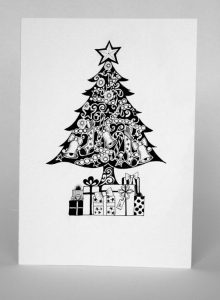 tarjetas de reyes magos