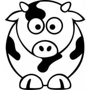 vaca dibujo