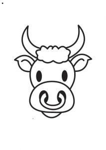 vaca para dibujar