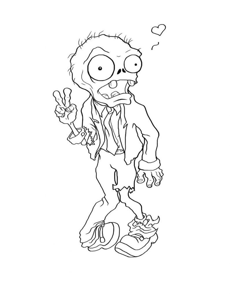 zombies para dibujar