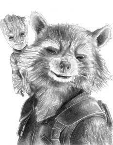 comida para mapaches